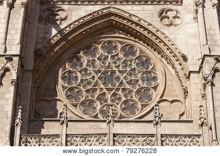 Burgos Cathedral Rosette.