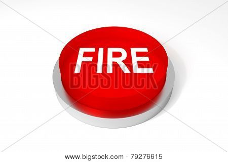 Red Round Button Fire