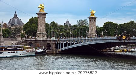 Paris - Bridge Of Alexandre Iii