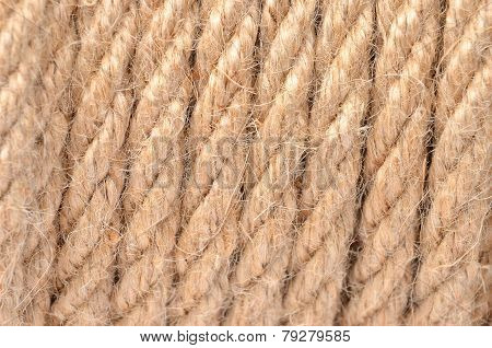 Manila rope background