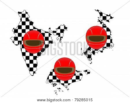 Racing Flag Maps 6