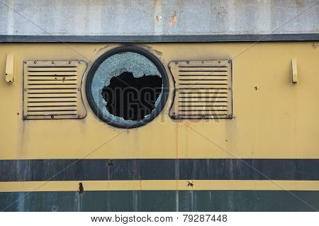 Old Railway Locomotive