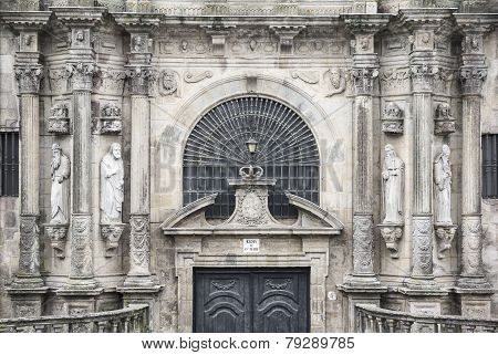San Martin Pinario church - Santiago de Compostela - Spain