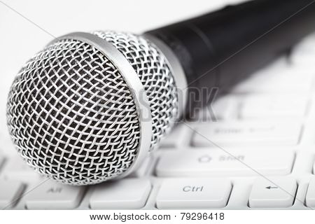Microphone And Keyboard