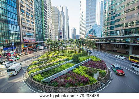 The Central District Landmark Of Hong Kong ,china.