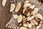 foto of brazil nut  - Heap of Brazil Nuts  - JPG
