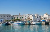 Touristic Port of Monopoli. Apulia. poster