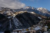 foto of italian alps  - a nice view from Gorno - JPG