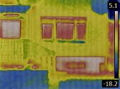 pic of basement  - Thermal Image of a Heat Loss from Basement - JPG
