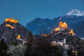 picture of fortified wall  - Switzerland - JPG