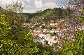 pic of banska  - The historic town of Banska Stiavnica Slovakia  - JPG
