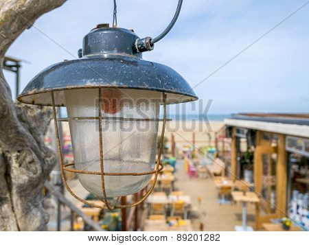 Old Industrial Lamp