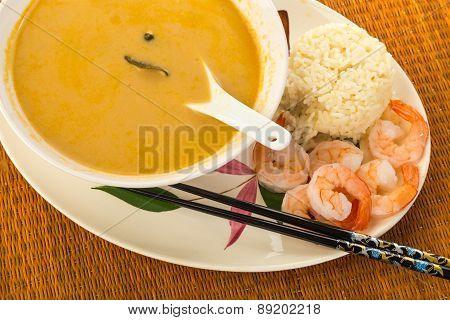 Tom Kha Phak - Thai Coconut Soup