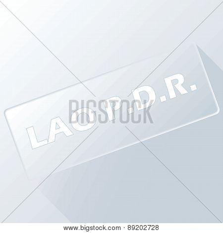 Lao unique button
