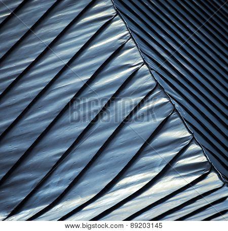 Blue Steel Roof