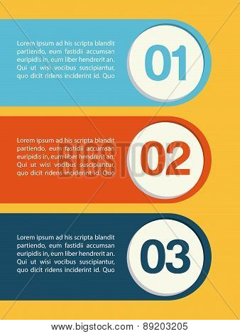 step by step design over yellow background vector illustration