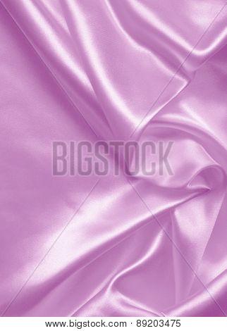 Smooth Elegant Lilac Silk Or Satin As Background