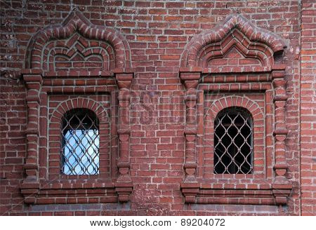 Two Windows Of The Krutitsy Patriarchal Metochion
