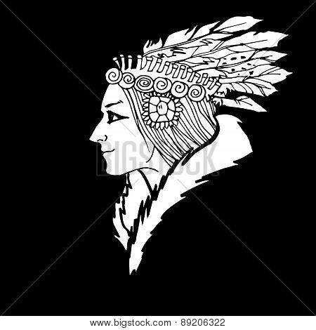 Woman American Indian