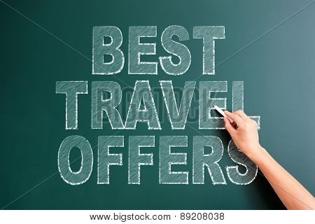writing best travel offers on blackboard