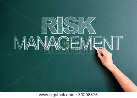 writing risk management on blackboard