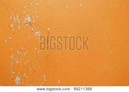 Old Orange Wall