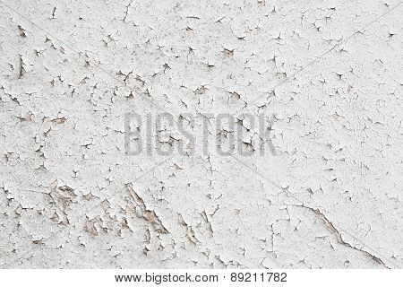 Vintage Cracked Paint Light Background