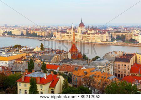 Budapest. Hungary. Danube.
