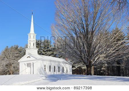 Martha Mary Chapel in Winter