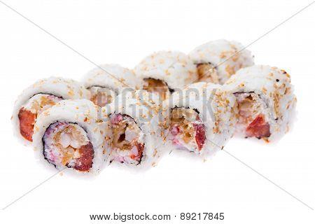 Soft crab maki