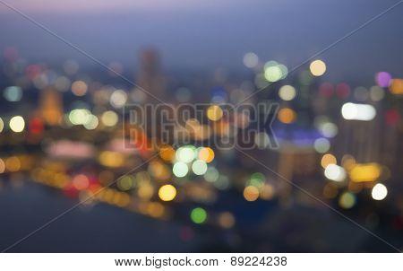 Blurred Cityscpae Background