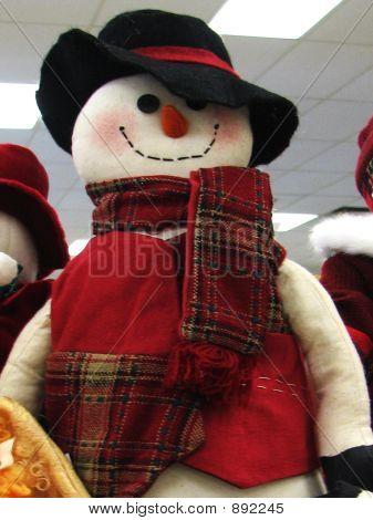Snowman Doll