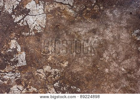 Old Dirty Cement Floor