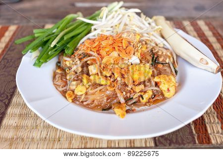 Pad Thai Or Phat Thai