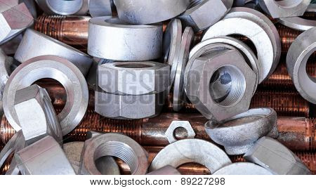 Nuts , Bolts And Copper Bar