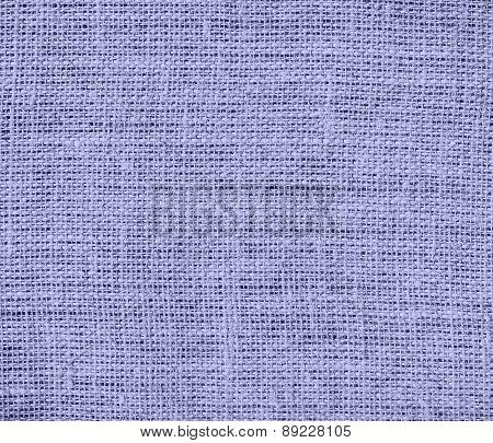 Blue Bell color burlap texture background