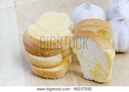 Freshly Baked Garlic Bread