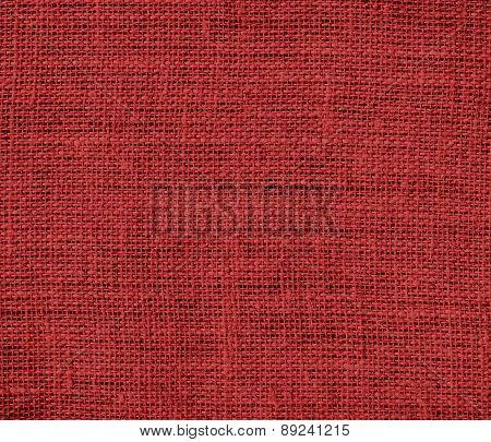Brown (web) color burlap texture background