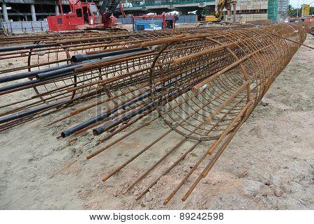 Bore pile reinforcement bars