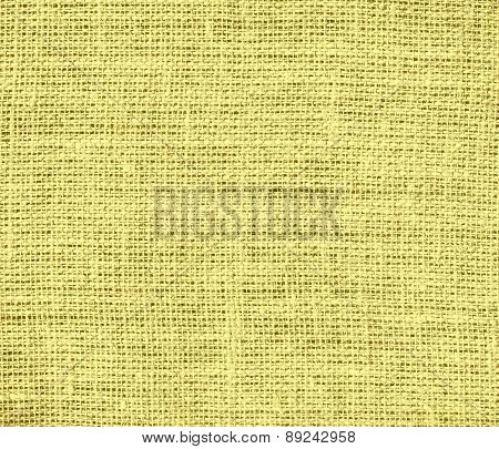 Buff color burlap texture background