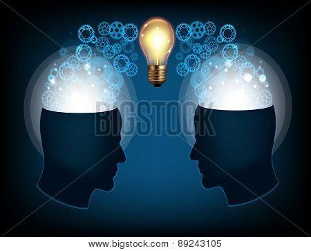 Brain two head
