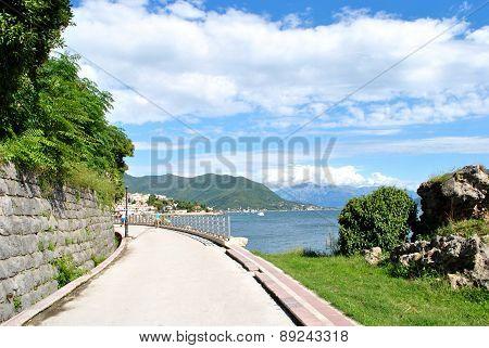 Embankment of Herceg Novi