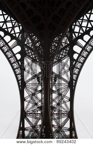 Eiffel Tower fragment