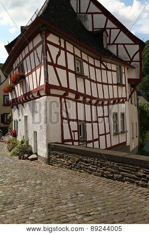 Medieval Village House Corner