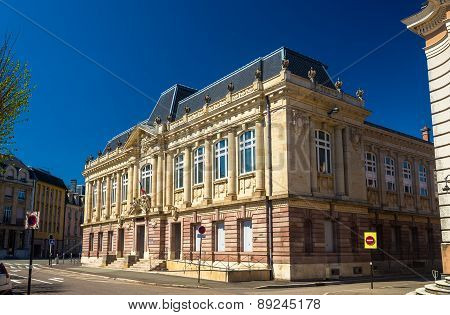 Palace Of Justice In Belfort - France