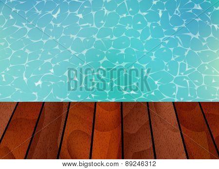Backround on beach