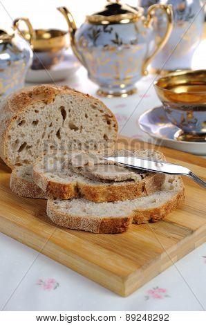 Chicken Liver Pate On Bread