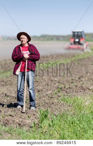 Peasant On Farmland