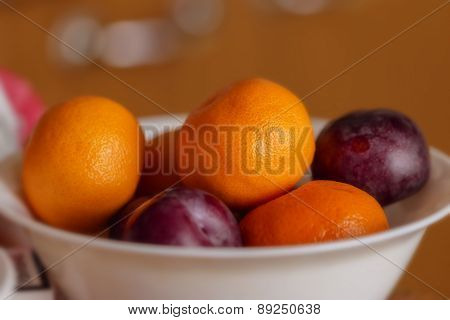 Plums And Tangerines