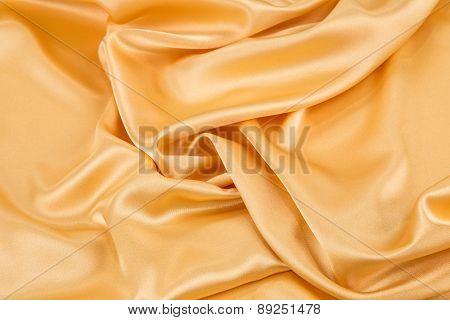 Yellow silk.
